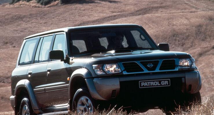 top-gebrauchtwagen: nissan patrol: heavy metal - auto motor und sport