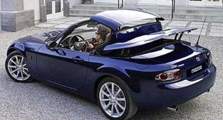 mazda mx 5 klappdach version auto motor und sport. Black Bedroom Furniture Sets. Home Design Ideas