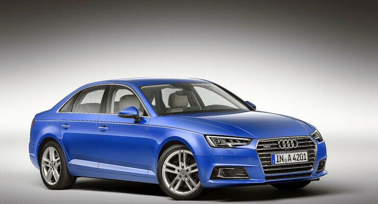 Audi auf der IAA 2015: Premieren für A4, Q6 und R8 - auto motor und ...