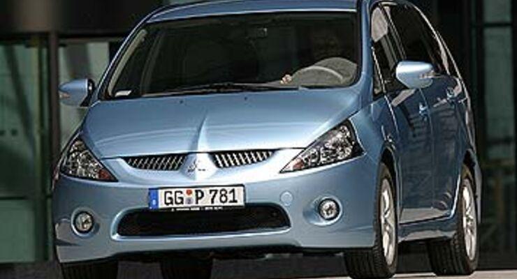 mitsubishi grandis 2.4 intense im test - auto motor und sport