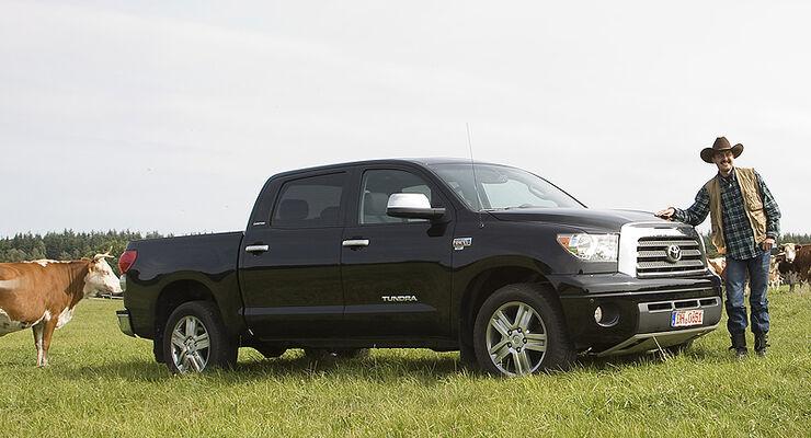 toyota tundra pick up 5 7 v8 im test auto motor und sport. Black Bedroom Furniture Sets. Home Design Ideas