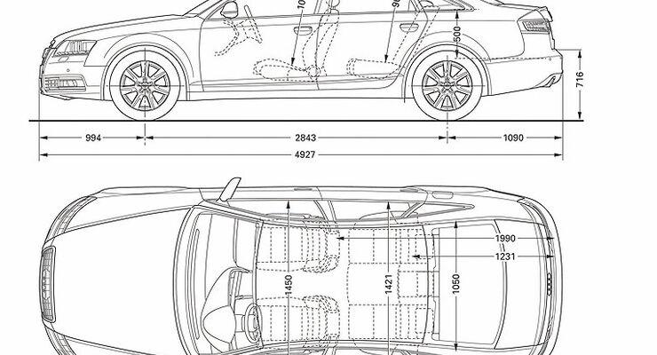 Atemberaubend Technische Zeichnung Eines Autos Zeitgenössisch - Die ...