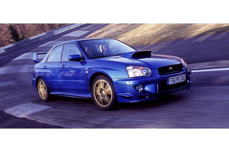 Subaru Imreza WRX STi im Supertest: Test des Subaru Imreza WRX STi ...