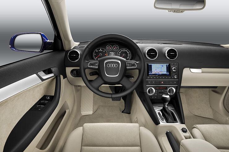 audi a3 facelift neue details und neuer motor auto motor und sport. Black Bedroom Furniture Sets. Home Design Ideas