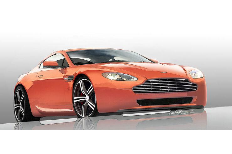Aston Martin Vantage N400 Coupe