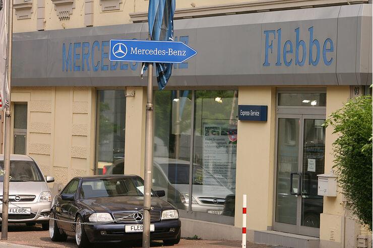 werkst ttentest mercedes 2008 autohaus flebbe in frankfurt seite 4 auto motor und sport. Black Bedroom Furniture Sets. Home Design Ideas
