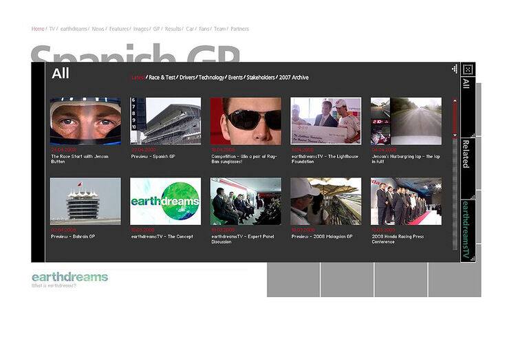 erlebniswelten online tv der auto hersteller auto motor und sport. Black Bedroom Furniture Sets. Home Design Ideas