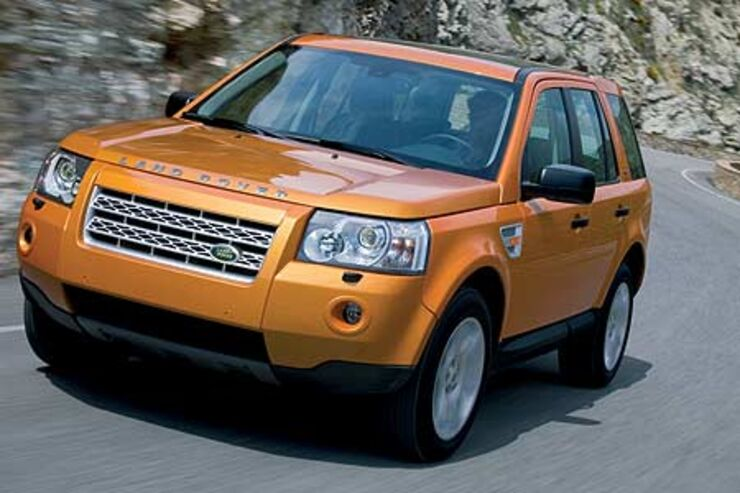 gebrauchtwagen land rover freelander im m ngelreport. Black Bedroom Furniture Sets. Home Design Ideas