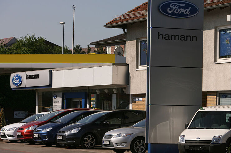 werkst ttentest ford 2008 autohaus hamann in hannover. Black Bedroom Furniture Sets. Home Design Ideas