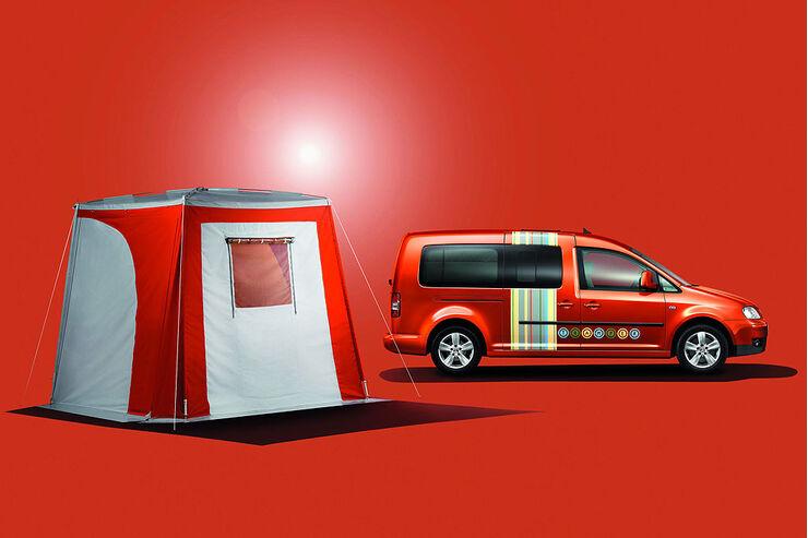 caddy maxi tramper unterwegs zuhause auto motor und sport. Black Bedroom Furniture Sets. Home Design Ideas