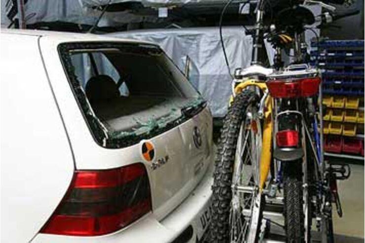 fahrradtr ger test mit last und t cke auto motor und sport. Black Bedroom Furniture Sets. Home Design Ideas