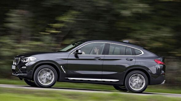 Bmw X4 Und Mercedes Glc Coupé Im Test Auto Motor Und Sport