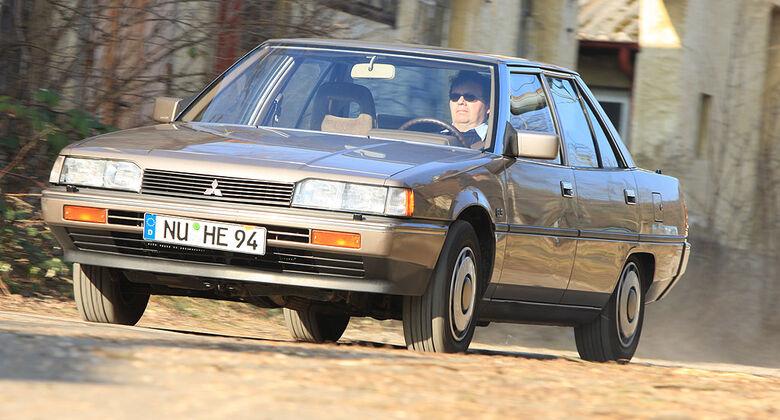 mitsubishi galant - auto motor und sport
