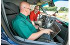 promobil Megatest 2014, Basisfahrzeuge, Messung Antrieb