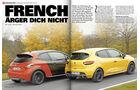 spa0215, Heftvorschau, Peugeot 208 Gti 30th, Renault Clio R.S., Vergleichstest