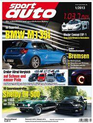 sport auto 01/2013, vorschau heftinhalt