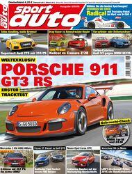sport auto 06/2015 - Titel