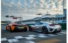 sport auto 10/2016 - Honda NSX - McLaren 570S