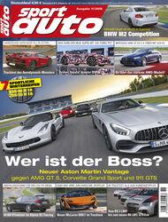 sport auto 11/2018 - Titel