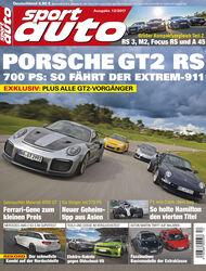 sport auto 12/2017 - Heft - Cover