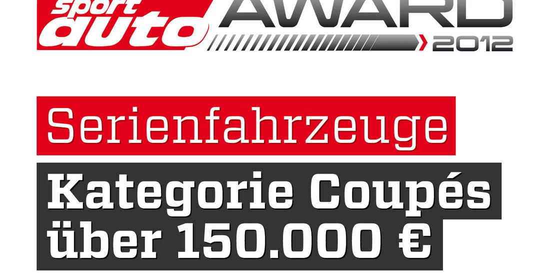 sport auto Award 2012 Serienfahrzeuge Kategorie Coupes über 130.000 Euro