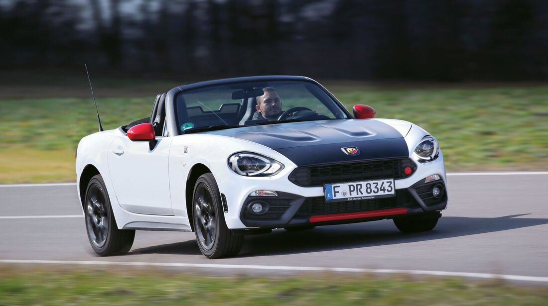 sport auto Award 2017 - G 065 - Abarth 124 Spider