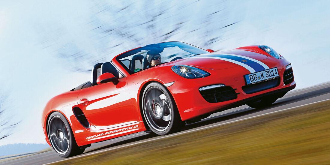 sport auto Award 2017 - V 198 - Wendland-Porsche 718 Boxster S