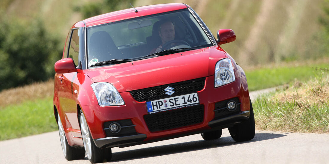sport auto-Exotendeals bis 15.000 Euro, Gebrauchtwagen-Spezial, 04/2016, Suzuki Swift Sport