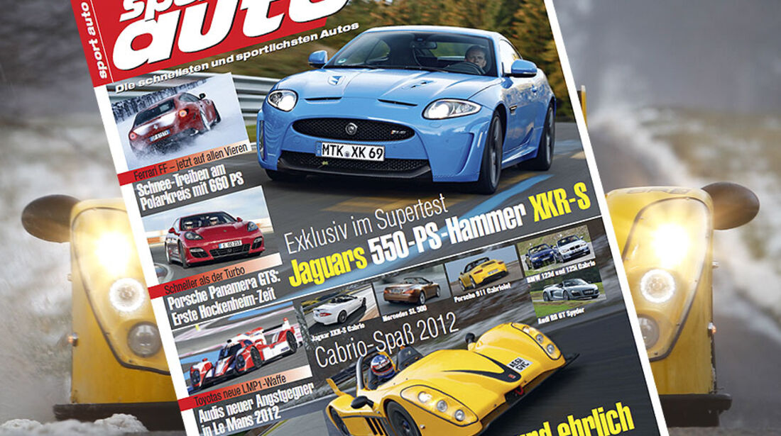 sport auto-Zeitschrift 03-2012