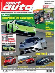 sport auto-Zeitschrift 04-2011