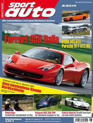 sport auto-Zeitschrift 08-2010