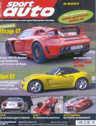 sportauto, Heft 02/2007
