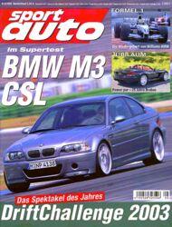 sportauto, Heft 08/2003