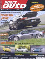 sportauto, Heft 11/2006
