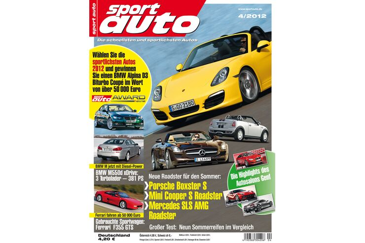 sportauto Heftcover 04/2012