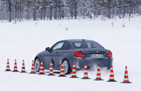 sportauto Winterreifentest 2018, BMW M2, Traktion